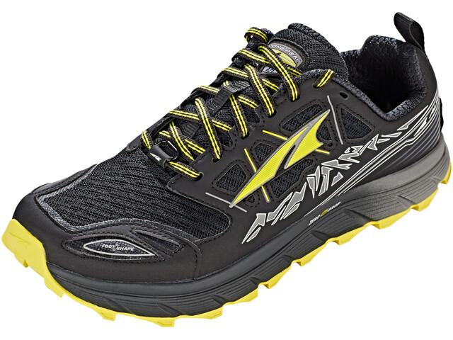 Altra Lone Peak 3.0 Trail Running Shoes Men Black/Yellow